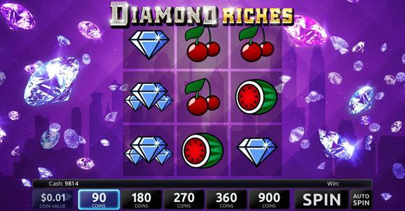 Diamond Riches Slotland Slot Game Review