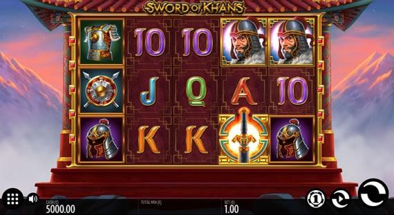 Sword of Khans Thunderkick Slot Review