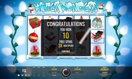Winter Wonders Slot Free Spins