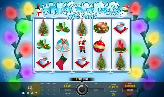 Winter Wonders Slot by Rival