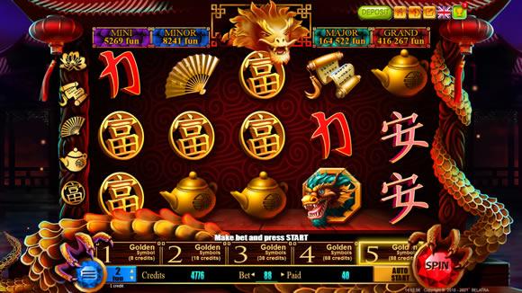 88 Dragons Treasure Online Slots by Belatra
