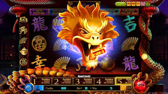 88 Dragons Treasure Slot Game