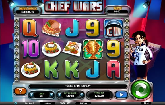 Chef Wars Online Slot Review