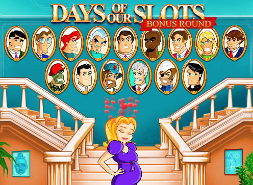 Days of our Slots bonus game