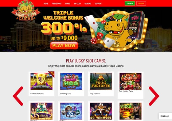 Lucky Hippo Casino Review