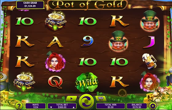 Pot of Gold Online Slot