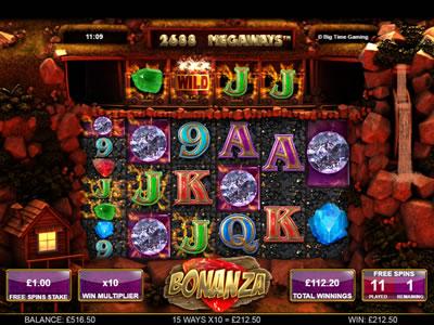 Bonanza Megaways Slot Review
