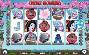 Cherry Blossoms WGS Slot Machine