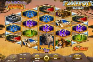 Diamond Rhino Progressive Jackpot Slot