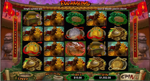 Fucanglong RTG slot machine