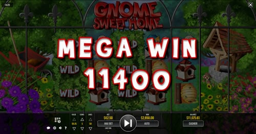 Gnome Sweet Home Mega Win