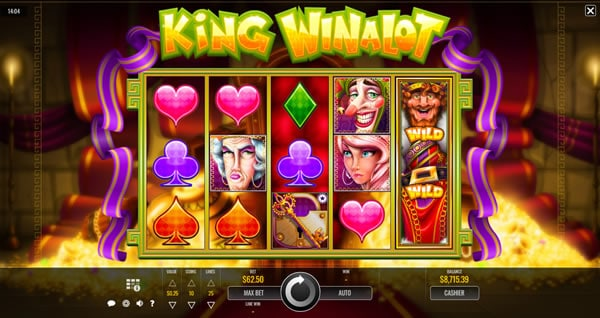 King Winalot Rival Slot Game