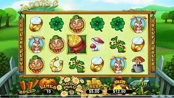 Lucky 6 RTG Online Slot Game
