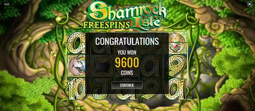 Shamrock Isle Win