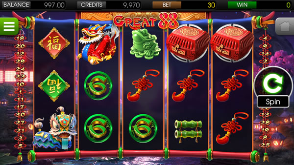 Great 88 Betsoft Online Slot Review