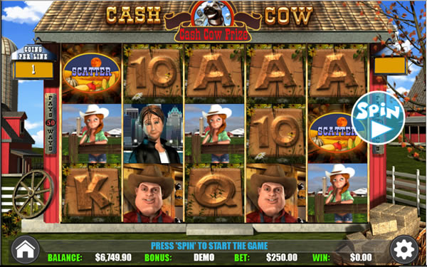 Cash Cow Online Slot WGS