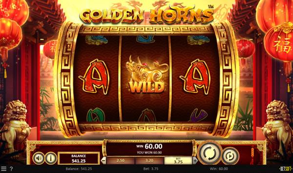 Golden Horns Betsoft Slot