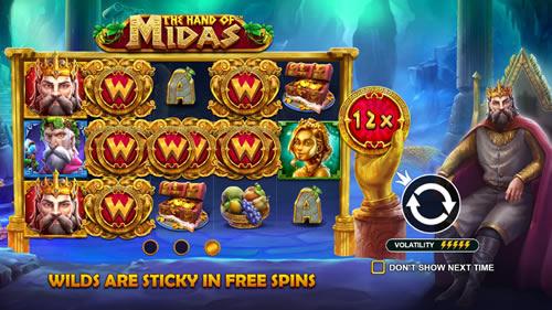 The Hand of Midas Pragmatic Play Slots