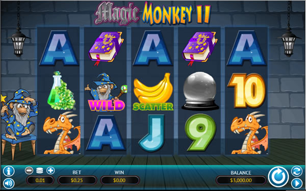 Magic Monkey II WGS Slot