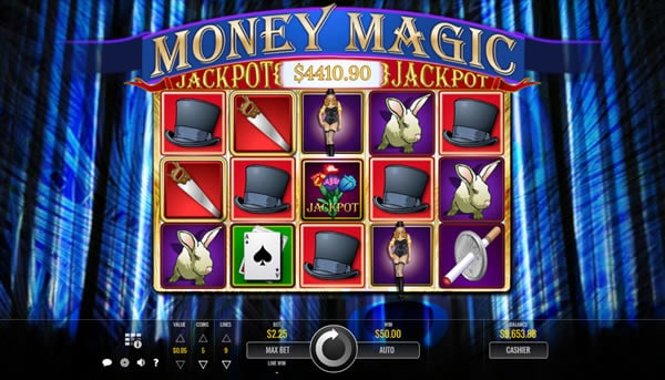 Money Magic Rival Slots Review