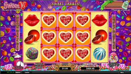 Sweet 16 Online Slot Machine