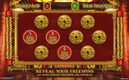 King of Wealth Bonus Game