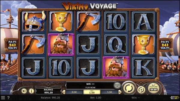 Viking Voyage Betsoft Slot Review