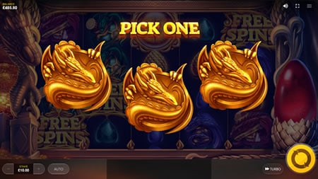 Dragon's Fire Free Spins