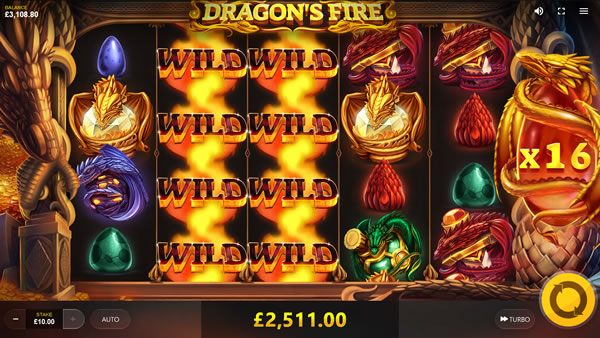 Dragon's Fire Online Slot Review