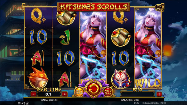 Kitsune's Scrolls Spinomenal Slot Review