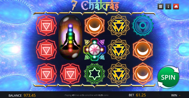 7 Chakras Saucify Slot Game