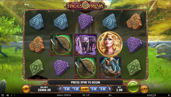 The Faces of Freya Online Video Slot