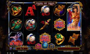 Nights Of Magic Spinomenal Slot