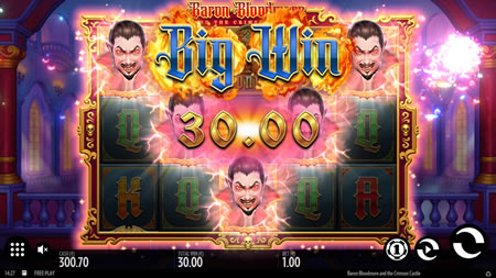 Baron Bloodmore and the Crimson Castle Big Win