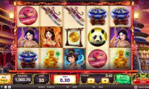 Eastern Goddesses Online Slot by Red Rake