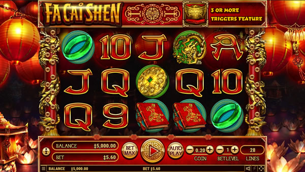 Fa Cai Shen Chinese Slot