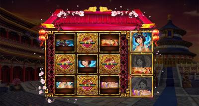 Eastern Goddesses Minigame