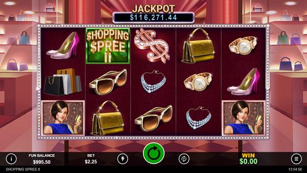 Shopping Spree II RTG Slot Game