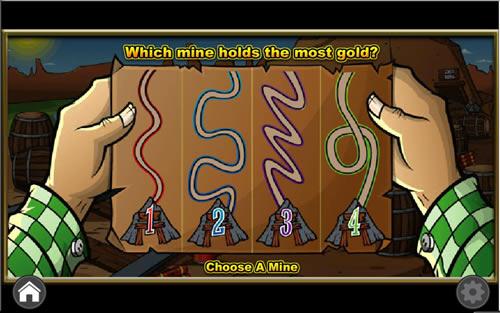 California Gold bonus game