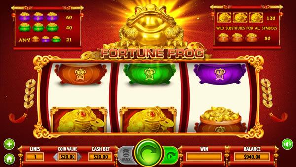 Fortune Frog Slot