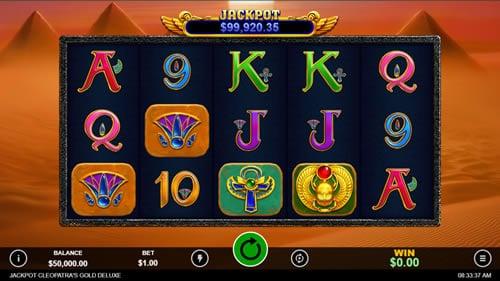 Jackpot Cleopatra's Gold Deluxe Screenshot