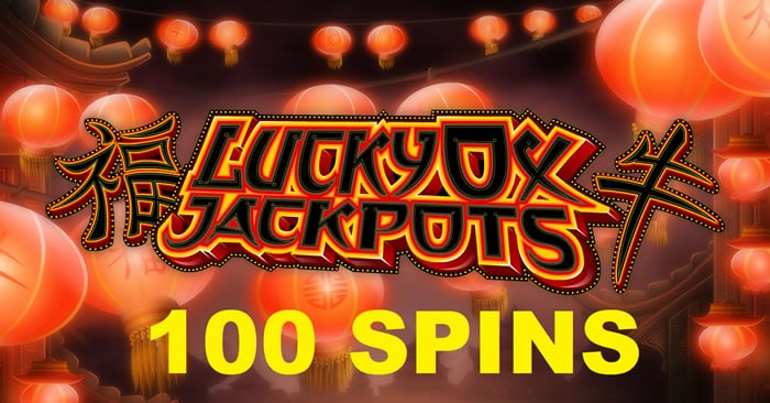 100 Spins on Lucky Ox