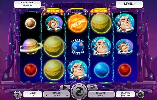 Lucky Orbit Slots - Arrow's Edge