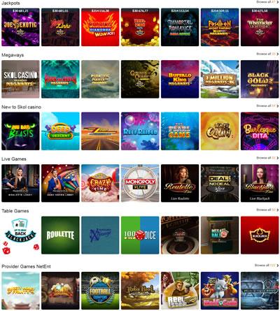 Skol Casino Games UK