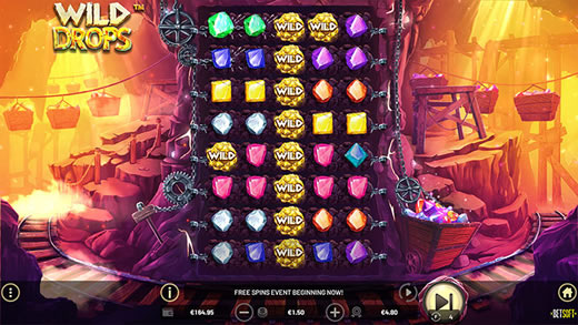 Wild Drops Free Spins