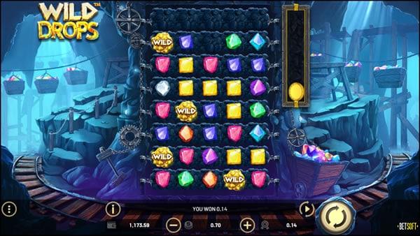 Wild Drops Betsoft Gaming Slot