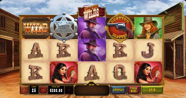 Wild West Wilds Playtech Slot