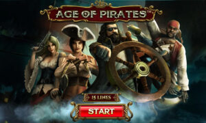 Age of Pirates 15 Line Online Slot by Spinomenal