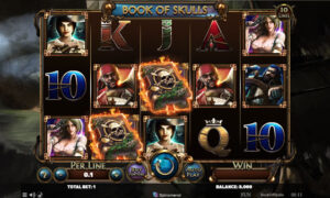 Book of Skulls Online Slot by Spinomenal