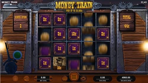 Money Train Bonus Gamee